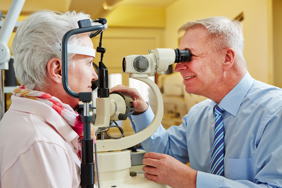 Home Care Services in Omaha NE: Your Loved One's Eyes Are Linked to Her Fall Risk, Believe it Or Not
